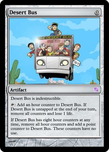 Desert Bus For Hope Blog