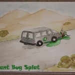 Desert van fanart contest - ArcadeStarlet - Giant bug splat