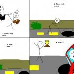 How to Slow Down Their Van!DanT