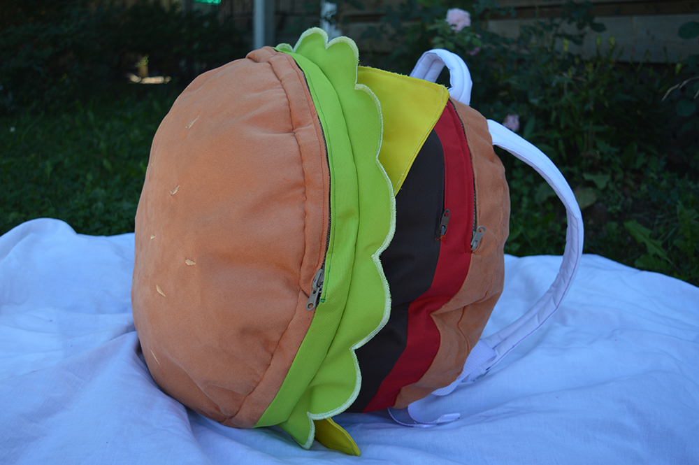 Cheeseburger Backpack 3