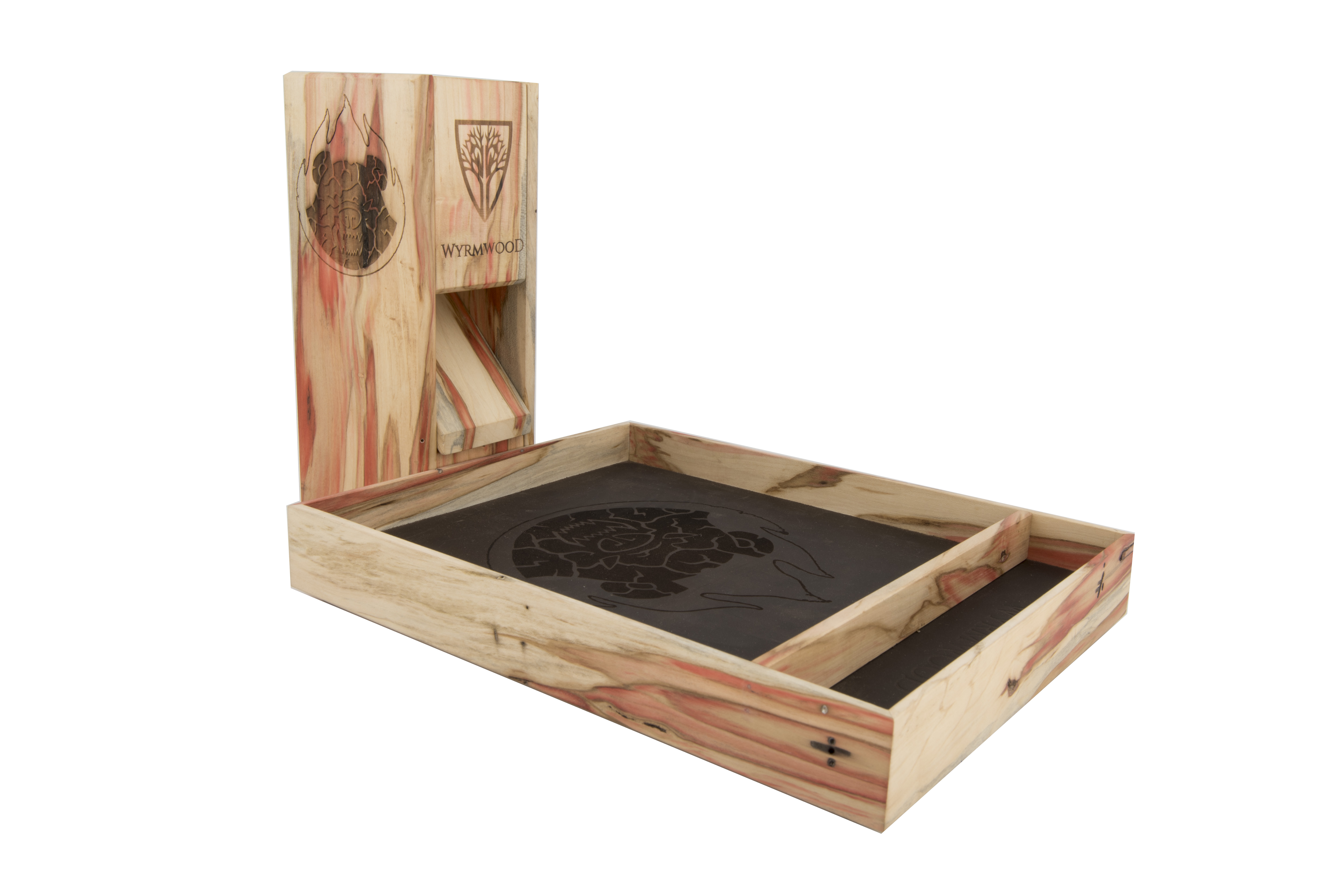 Dice Tower and Tabletop Dice Tray