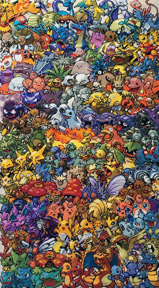 Pokemon Needlepoint 009