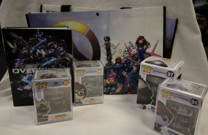 A snapshot of all the items included in the Overwatch lot.