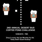 Gekyouryuu's Coffee Pong Poster