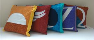 shift banner pillow