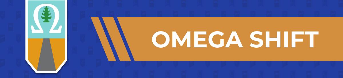 Omega Shift banner.