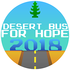 Desert Bus for Hope 2018