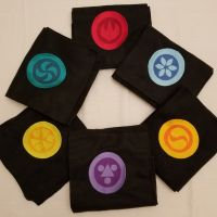 Temple Medallion Scarf Set