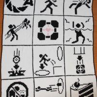 Portal Test Chamber Blanket