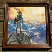 Legend of Zelda: Breath of the Wild Cross Stitch