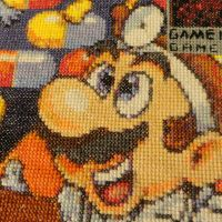 Dr. Mario Box Art Cross-Stitch