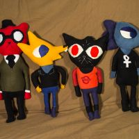 Night in the Woods Characters