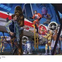 Star Wars Celebration Europe Print by Ken (Value Added) Steacy! B^)