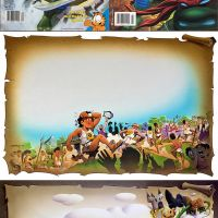 TMNT Magazine Fairy Tale Original Artwork by Ken (Value Added) Steacy! B^)