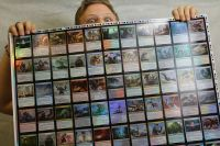 MTG: Oath of the Gatewatch expansion, uncut foil sheet